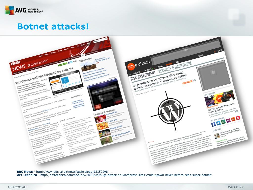 AVG.COM.AU AVG.CO.NZ Botnet attacks! BBC News -...
