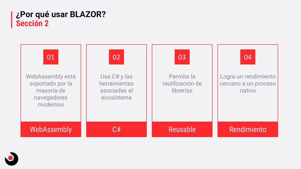 ¿Por qué usar BLAZOR? Sección 2 WebAssembly est...