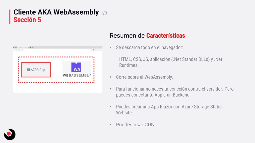 Cliente AKA WebAssembly 1/3 Sección 5 BLAZOR Ap...