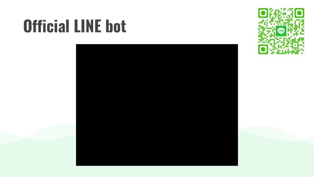 Official LINE bot