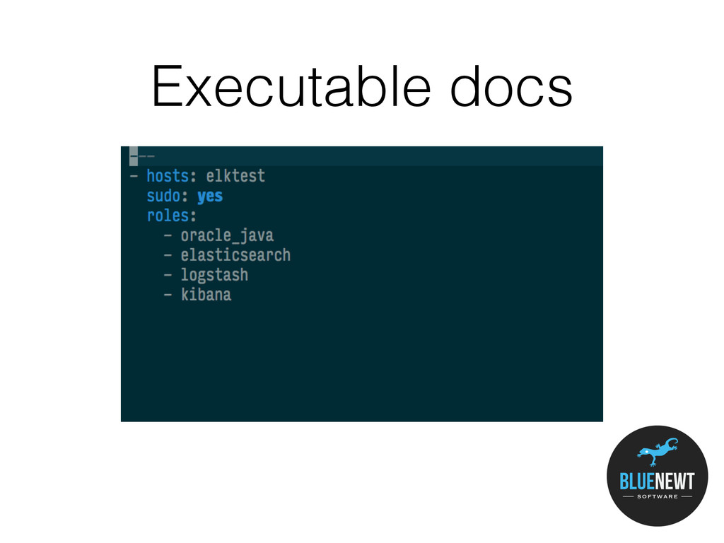 Executable docs