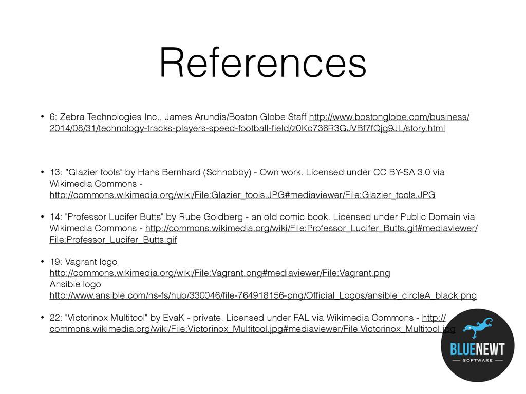 References • 6: Zebra Technologies Inc., James ...