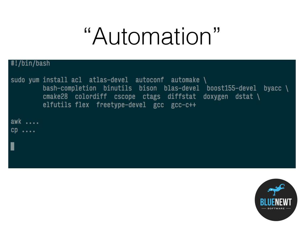 """Automation"""