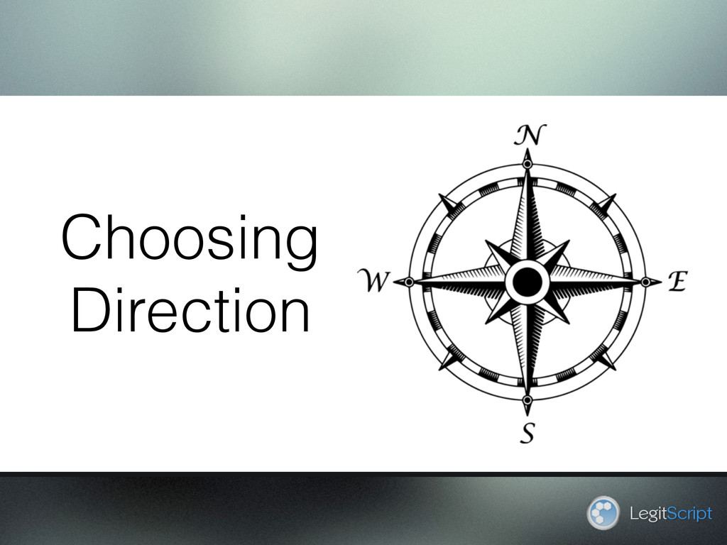 LegitScript Choosing Direction