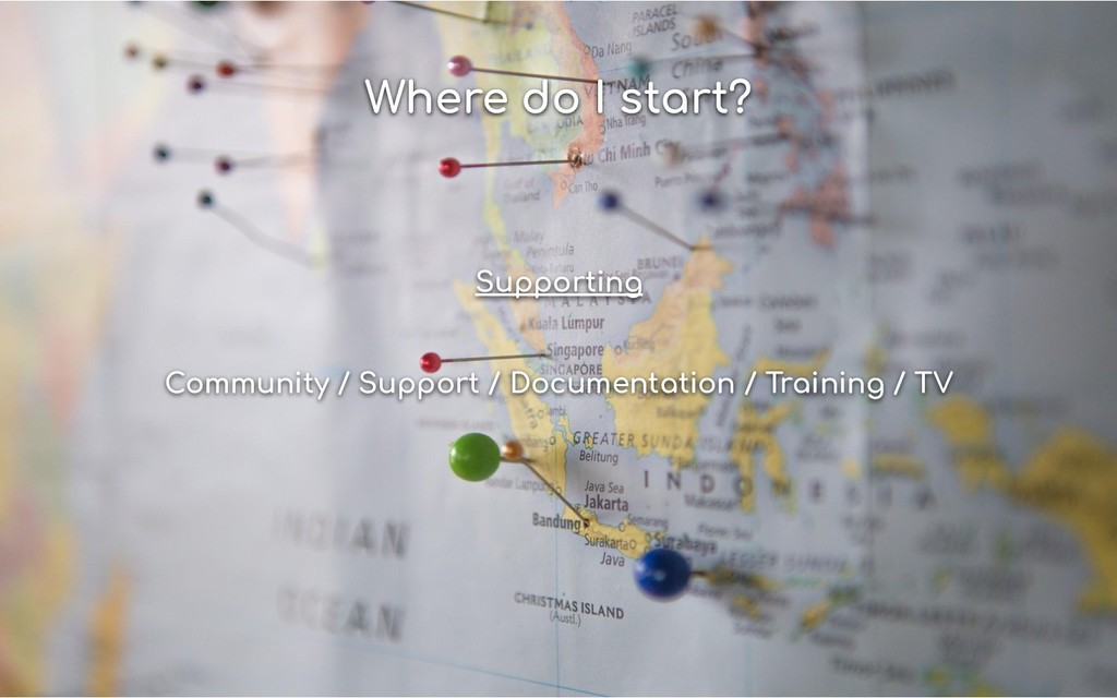 Where do I start? Supporting Community / Suppor...