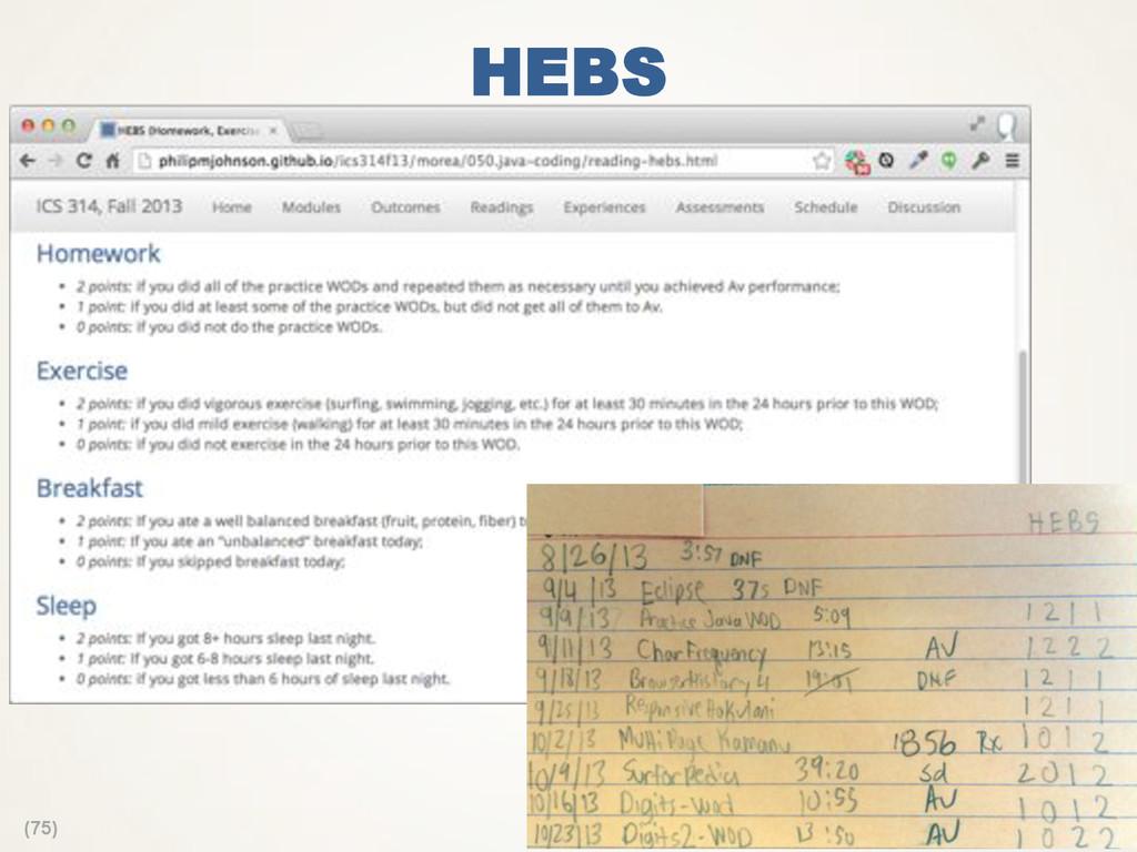 (75) HEBS