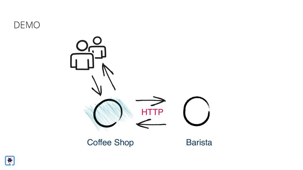 Coffee Shop Barista DEMO HTTP