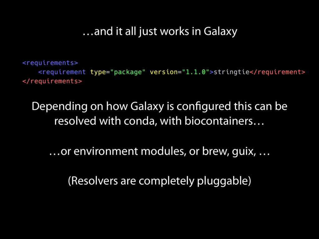 …and it all just works in Galaxy Depending on h...