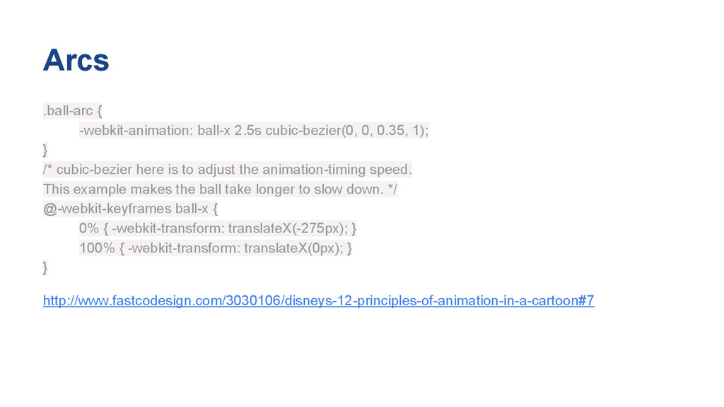 Arcs .ball-arc { -webkit-animation: ball-x 2.5s...