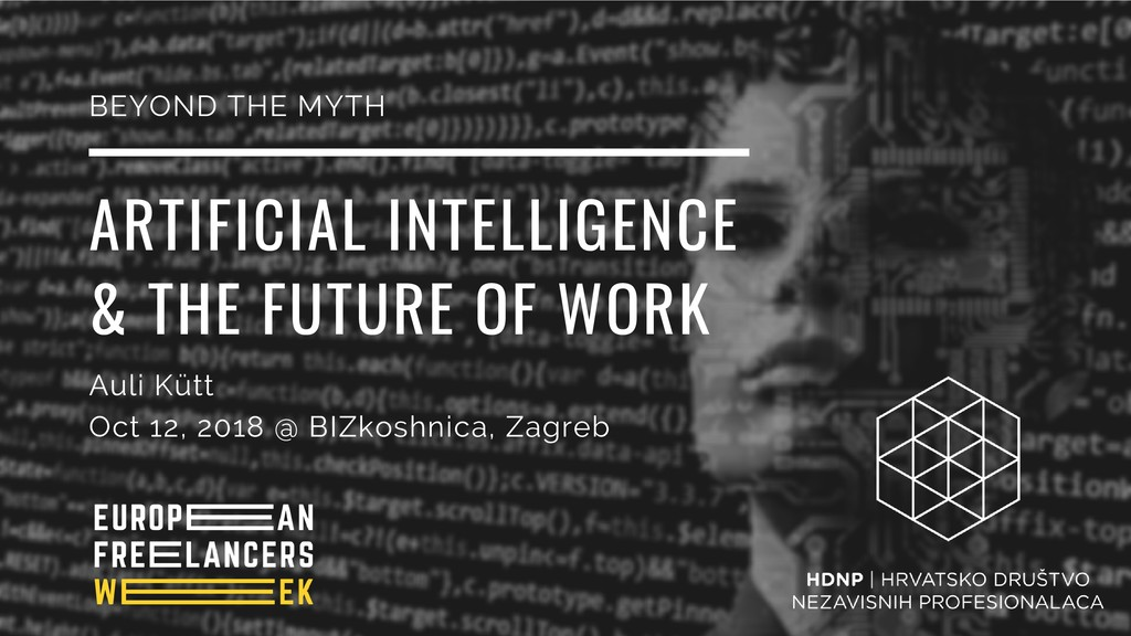 ARTIFICIAL INTELLIGENCE & THE FUTURE OF WORK Au...