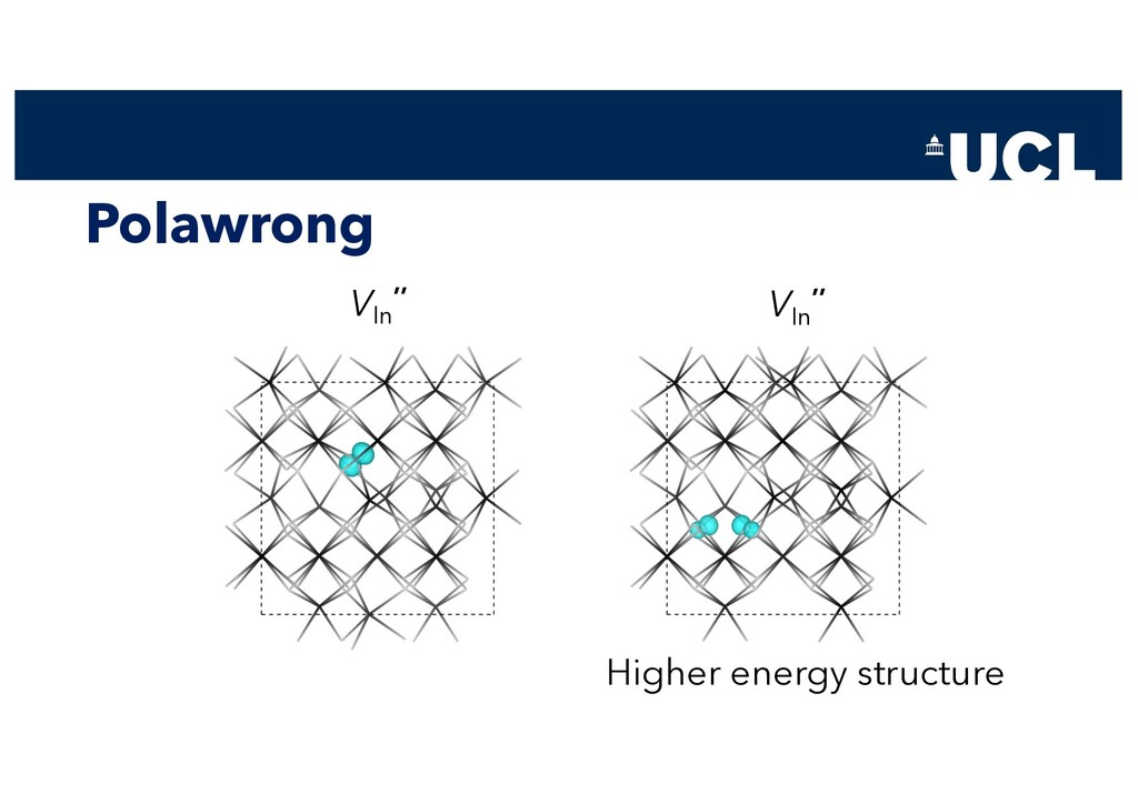 Polawrong VIn '' VIn '' Higher energy structure