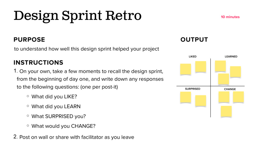 to understand how well this design sprint helpe...
