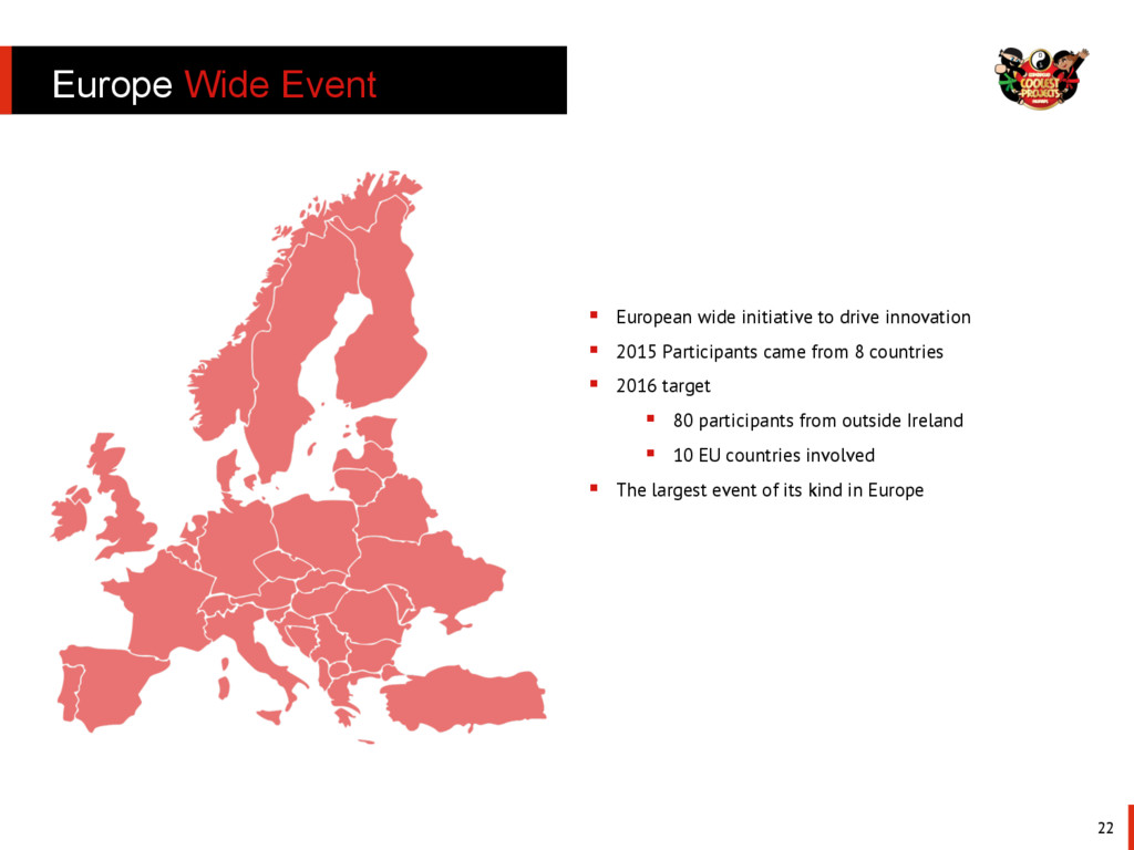 Europe Wide Event 22 §  European wide initiati...