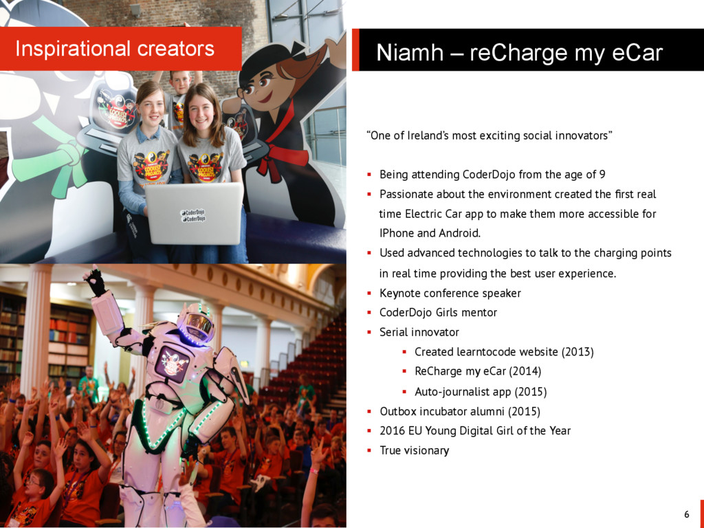Niamh – reCharge my eCar 6 Inspirational creato...
