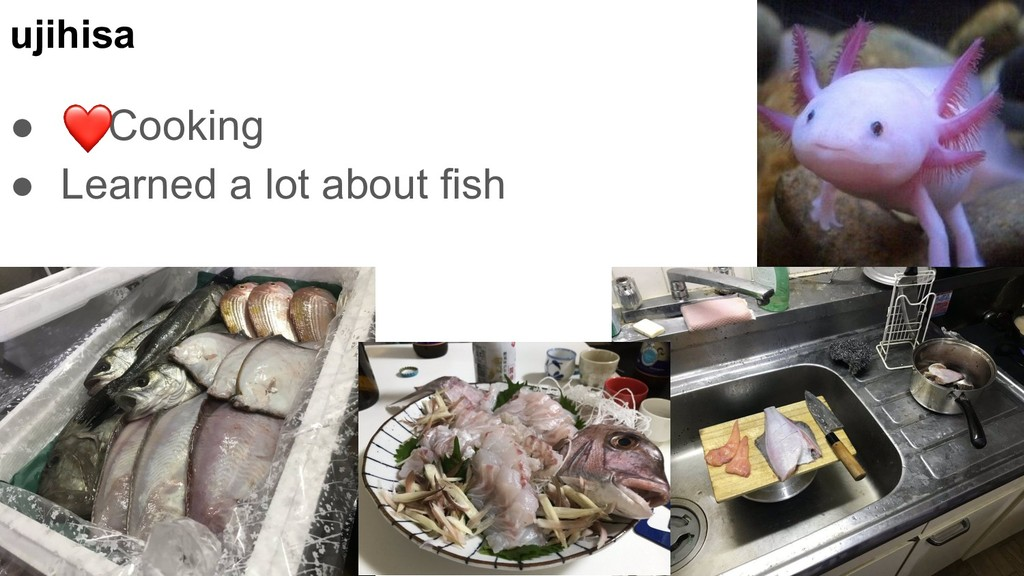 ujihisa ● Cooking ● Learned a lot about fish