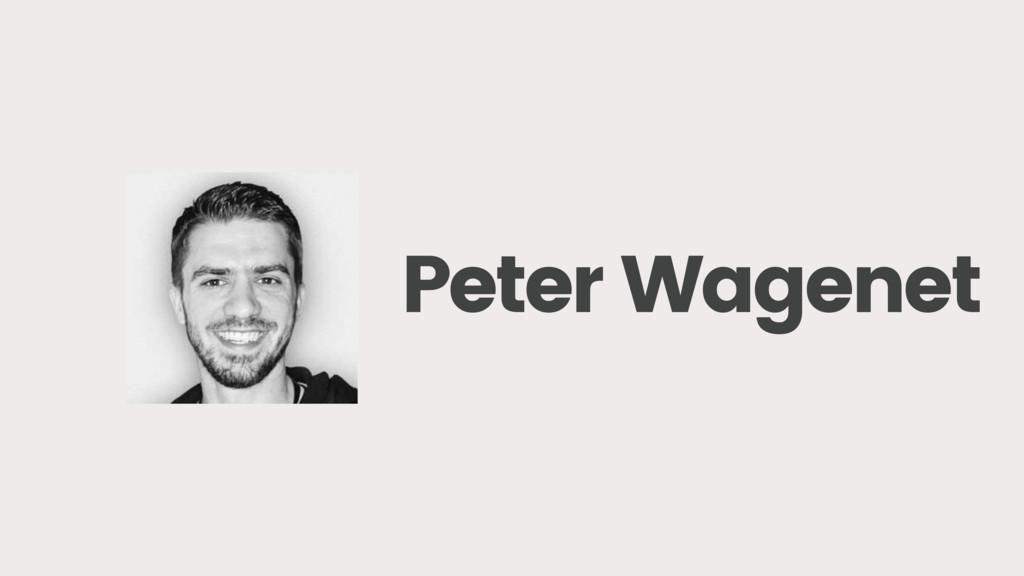 Peter Wagenet