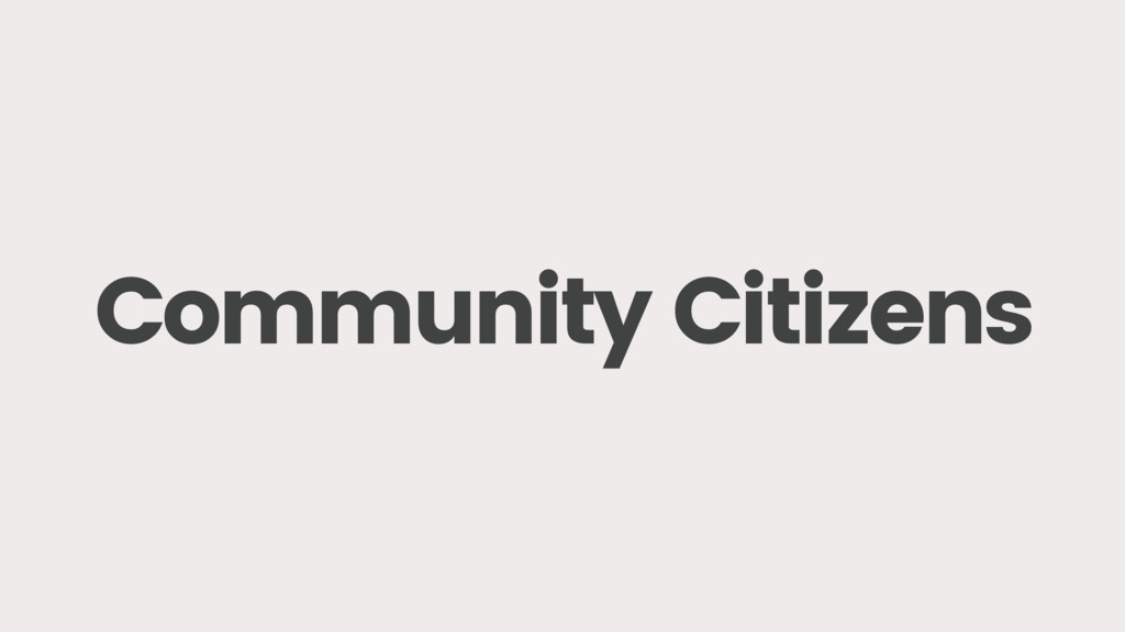 Community Citizens