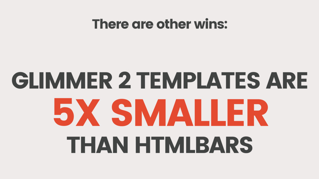 There are other wins: GLIMMER 2 TEMPLATES ARE 5...