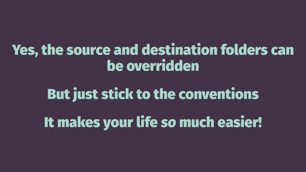 Yes, the source and destination folders can be ...