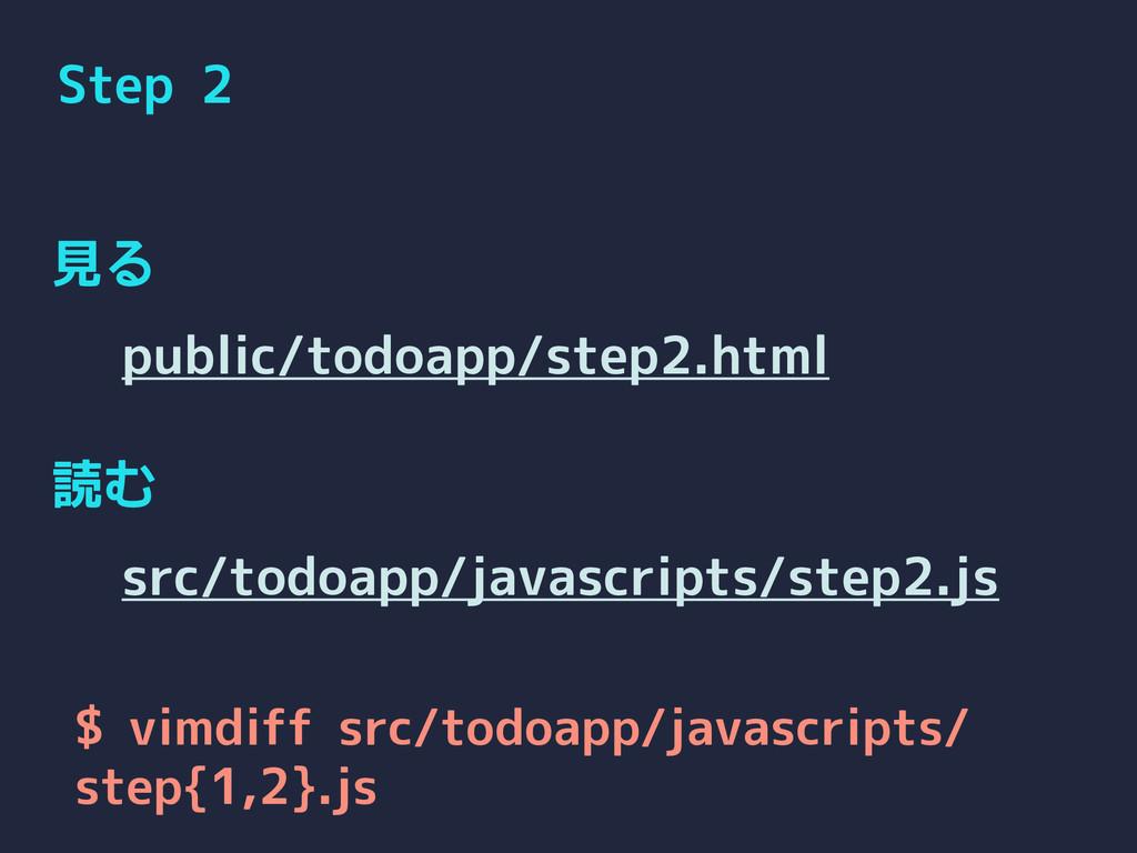 Step 2 見る 読む public/todoapp/step2.html src/todo...