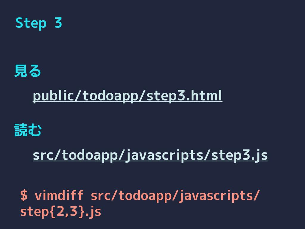 Step 3 見る 読む public/todoapp/step3.html src/todo...