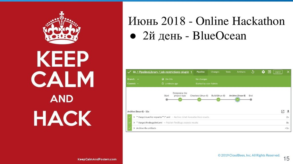 © 2019 CloudBees, Inc. All Rights Reserved. Июн...