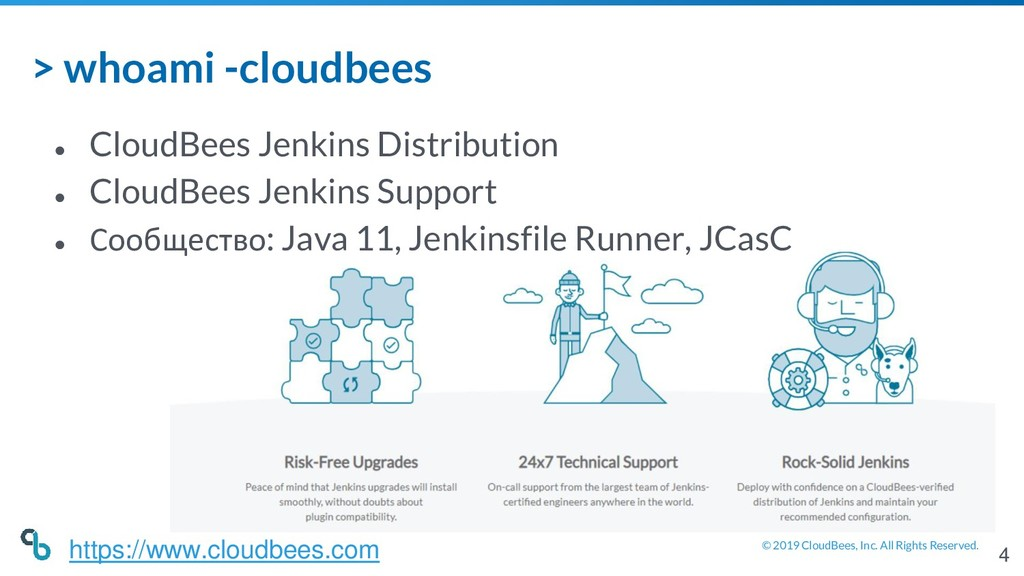 © 2019 CloudBees, Inc. All Rights Reserved. > w...