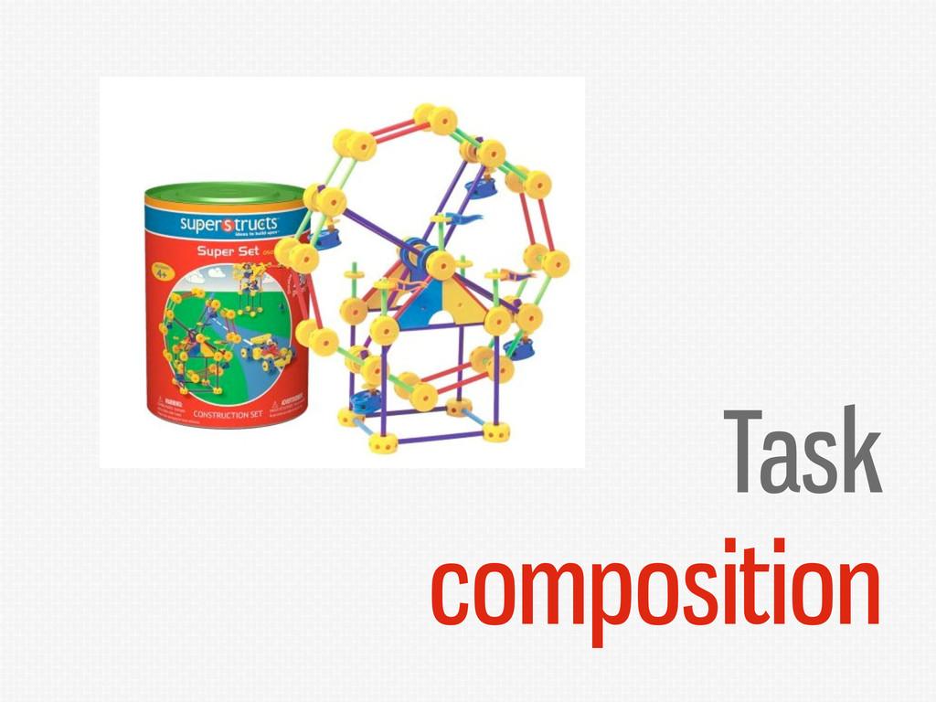 Task composition