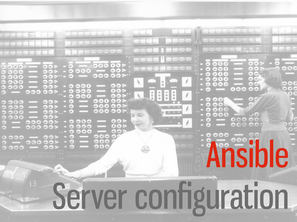 Ansible Server configuration