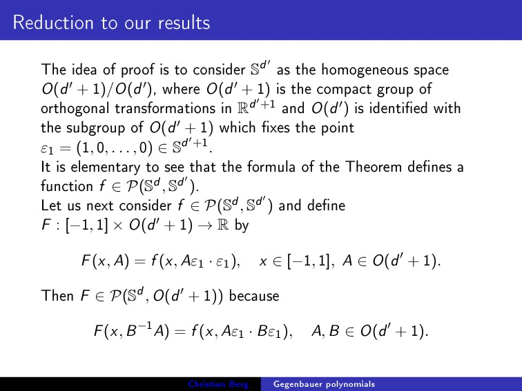 Reduction to our results The idea of proof is t...