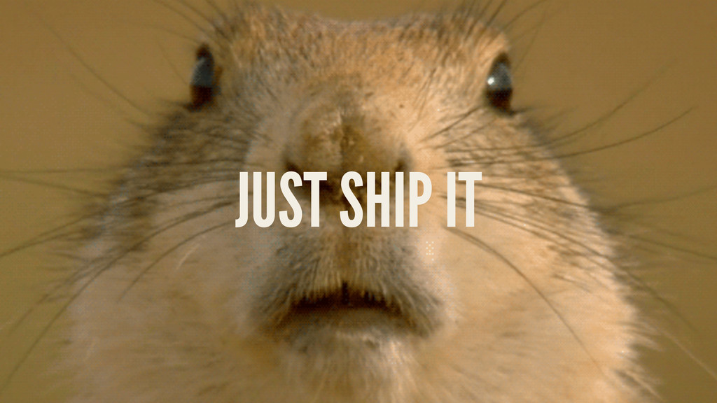 LEVERAGING LARAVEL @STAUFFERMATT JUST SHIP IT