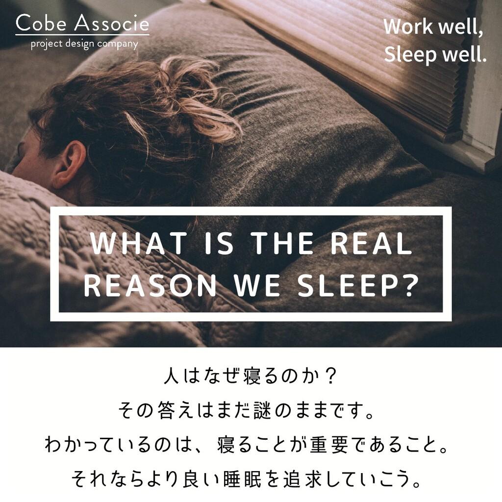 人はなぜ寝るのか? その答えはまだ謎のままです。 わかっているのは、寝ることが重要であること。...