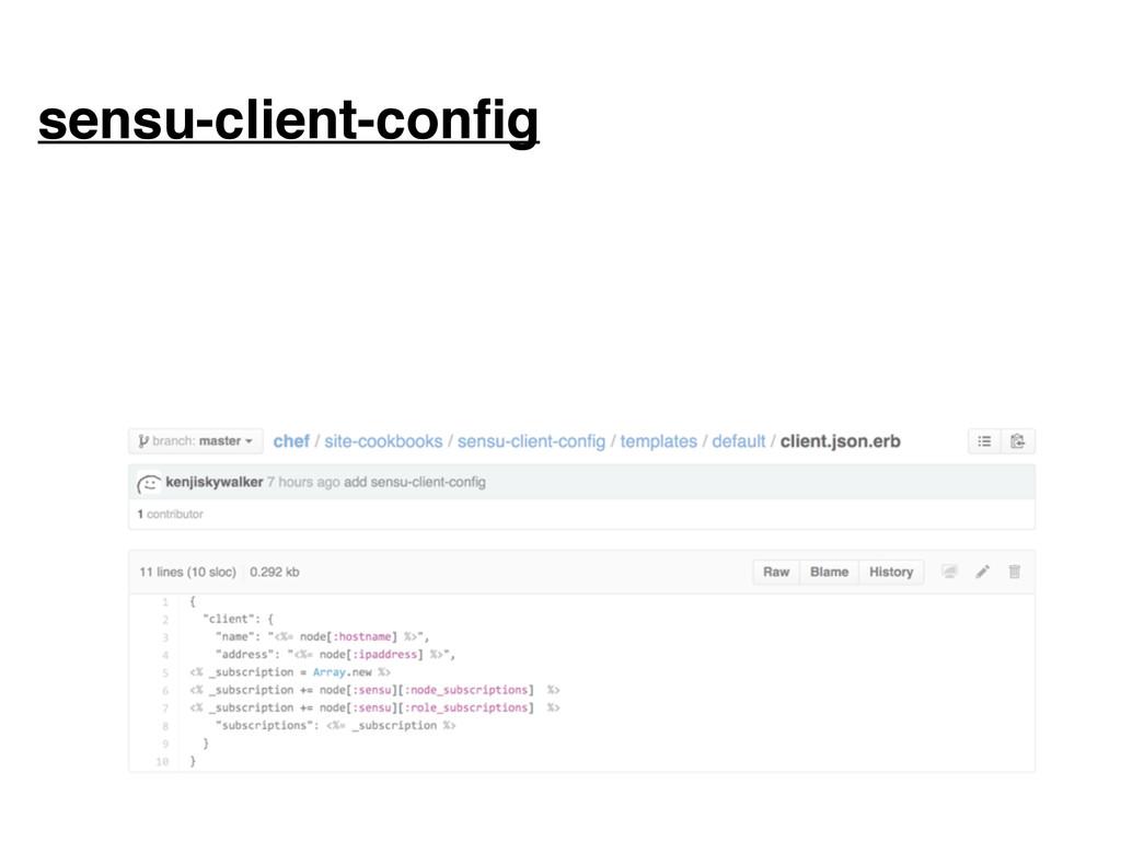 sensu-client-config