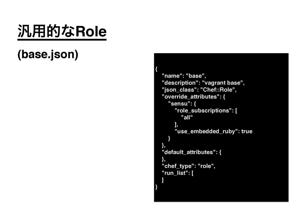 """൚༻తͳRole! (base.json) {! """"name"""": """"base"""",! """"desc..."""