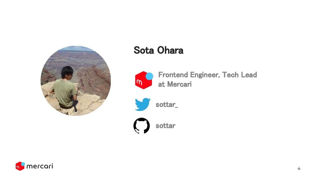 4 ota Ohara sottar_ sottar Frontend Engineer...