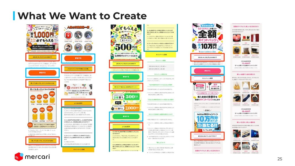 25 What We Want to Create