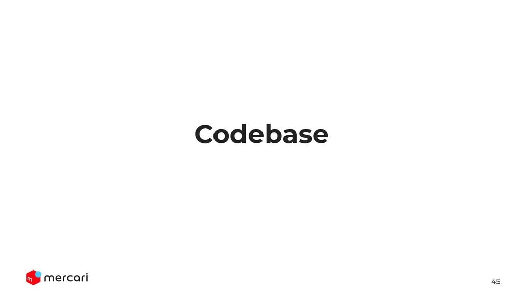 45 Codebase