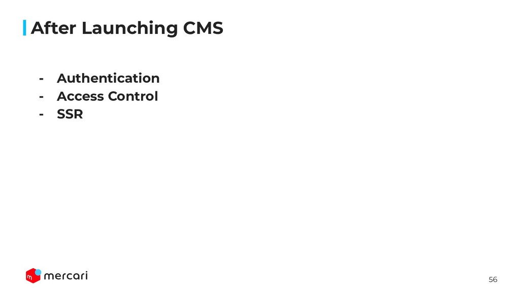 56 After Launching CMS - Authentication - Acces...