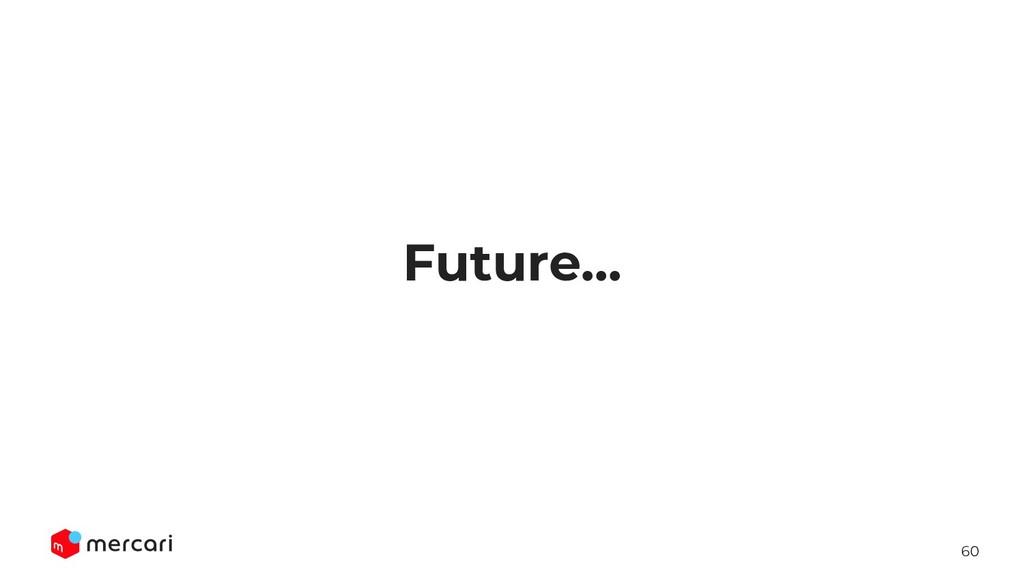 60 Future...