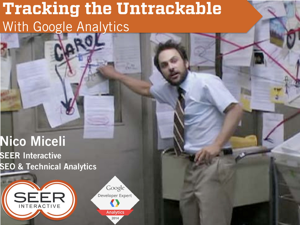 Nico Miceli SEER Interactive SEO & Technical An...