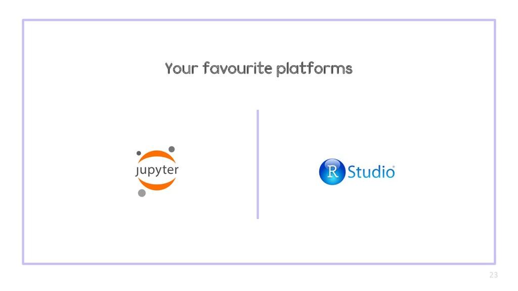 Your favourite platforms 23