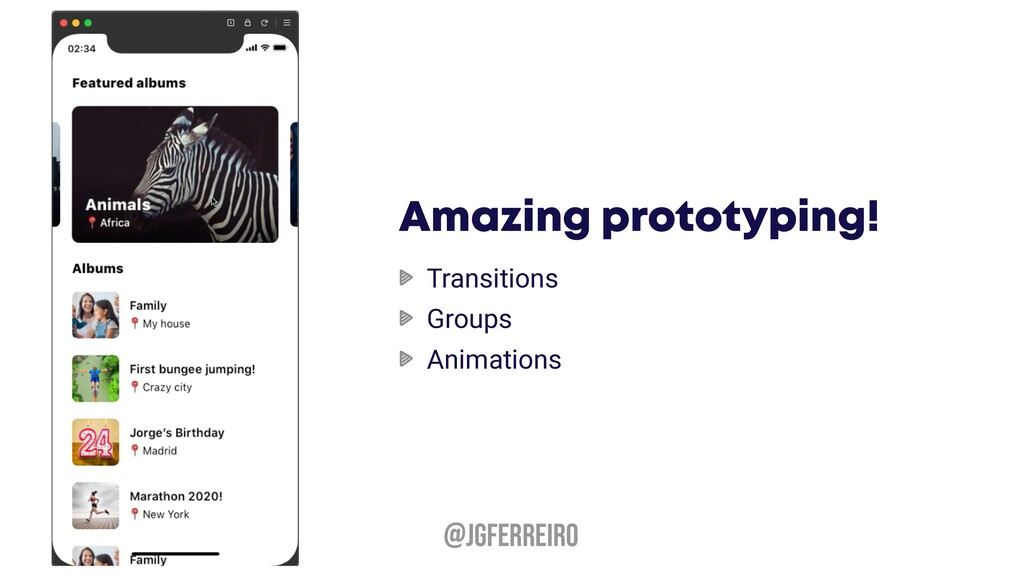 @JGFERREIRO Amazing prototyping! Transitions Gr...