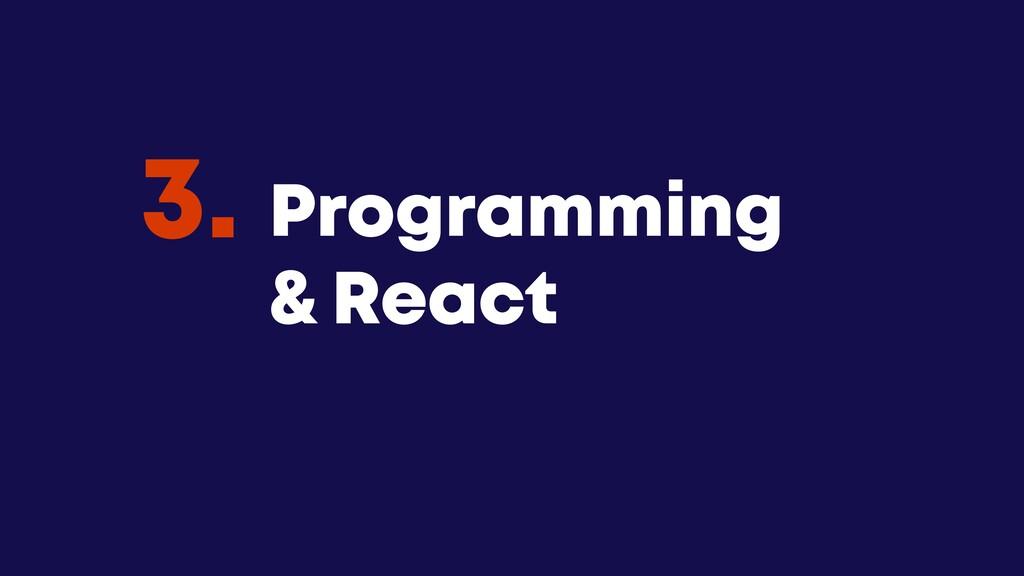 @JGFERREIRO @JGFERREIRO Programming & React 3.