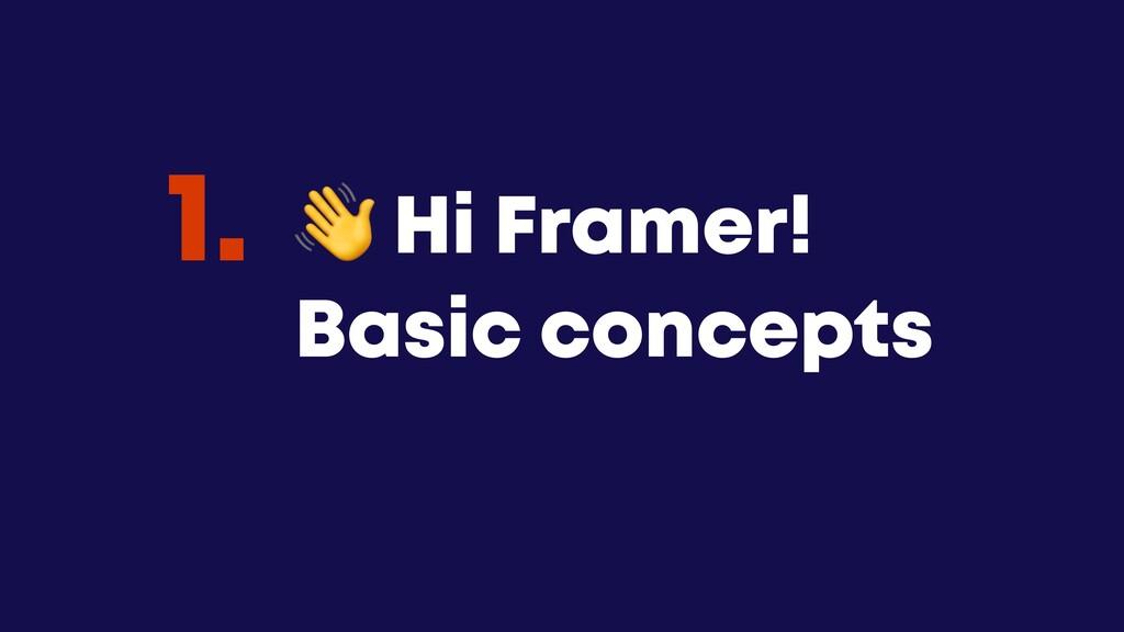 @JGFERREIRO @JGFERREIRO  Hi Framer! Basic conce...