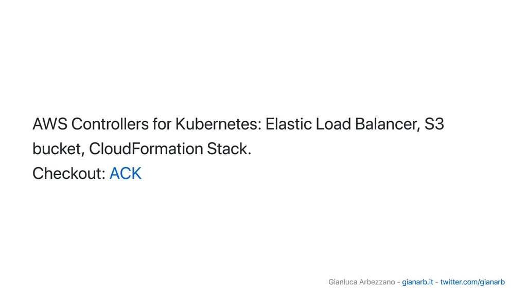 AWS Controllers for Kubernetes: Elastic Load Ba...