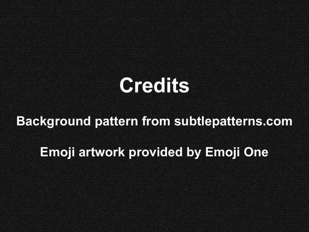 Credits Background pattern from subtlepatterns....