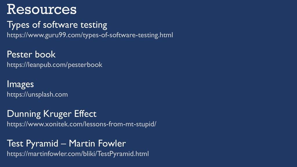 Types of software testing https://www.guru99.co...
