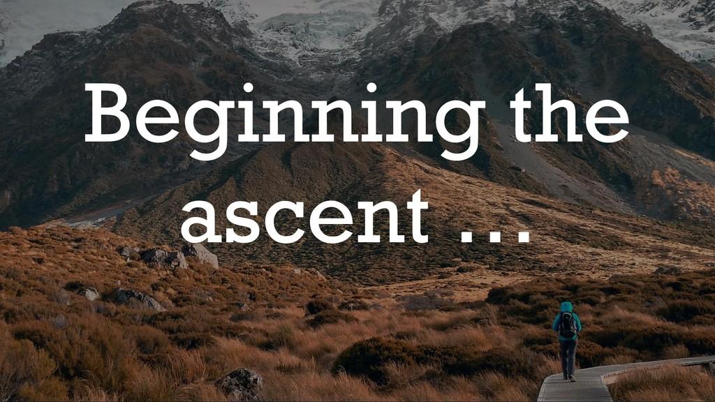@glennsarti Beginning the ascent …