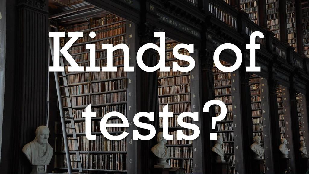 @glennsarti Kinds of tests?