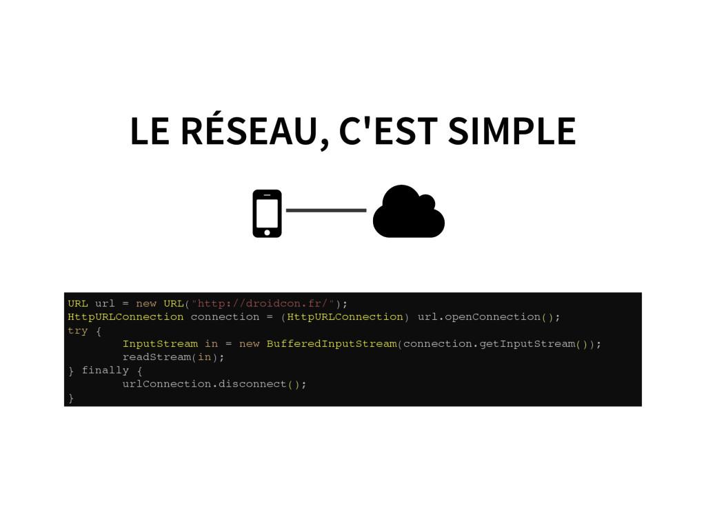 LE RÉSEAU, C'EST SIMPLE   U R L u r l = n e w...